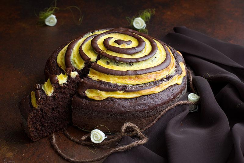 Torte Da Credenza Al Cioccolato : Torta ai frutti di bosco e cioccolato il gatto pasticcione