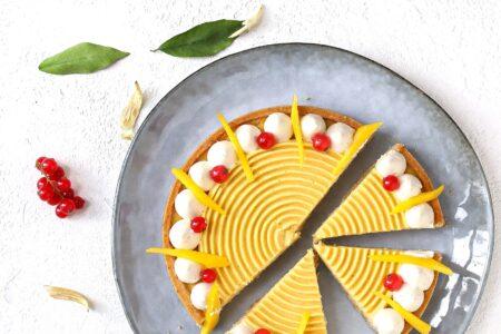 tarte cocco e mango